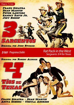 programa doble rat pack in the west (tres sargentos-cuatro tios d-8436037889325