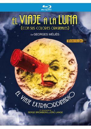 el viaje a la luna + el viaje extraoridnario (blu-ray)-8421394400399