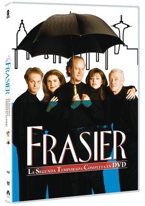 frasier: segunda temporada completa (dvd)-8414906795809