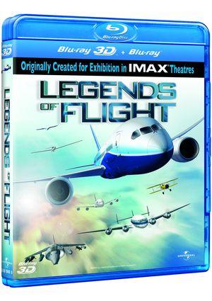 leyendas de vuelo (combo blu-ray 3d + 2d)-8414906923813