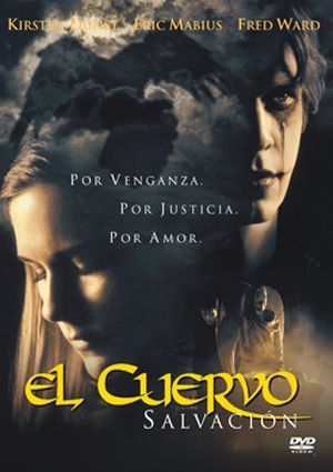 el cuervo: salvacion (dvd)-8435175961979