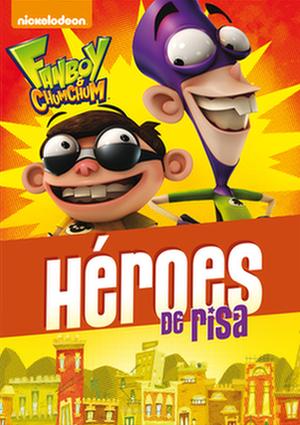 fanboy & chum chum: heroes de risas (dvd)-8414906842893