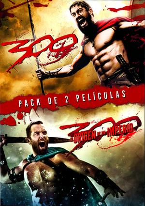 pack 300 + 300 el origen de un imperio: ed.limitada (dvd)-5051893185119