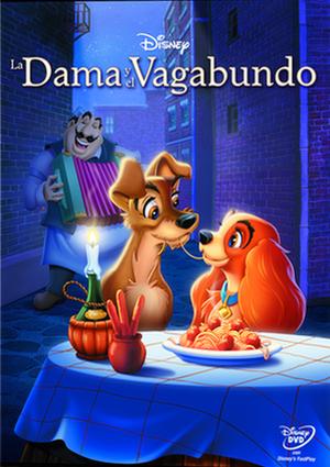 la dama y el vagabundo (dvd)-8717418432294