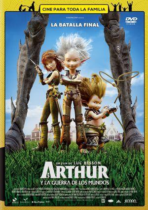 arthur y la guerra de los mundos (dvd)-8435153745805