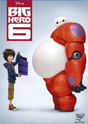 big hero 6 (dvd)-8717418446536