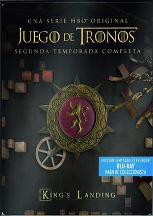 juego de tronos: temporada 2 ed.metalica (blu-ray)-5051893222845