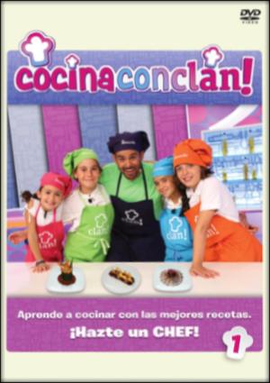 cocina con clan: temporada 1 vol 1 (dvd)-8420266976109
