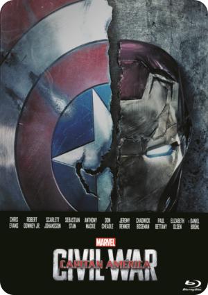capitan america: civil war: ed.metalica (blu-ray)-8717418482671