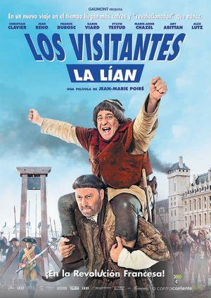 los visitantes la lían (en la revolución francesa) (dvd)-8436535545648