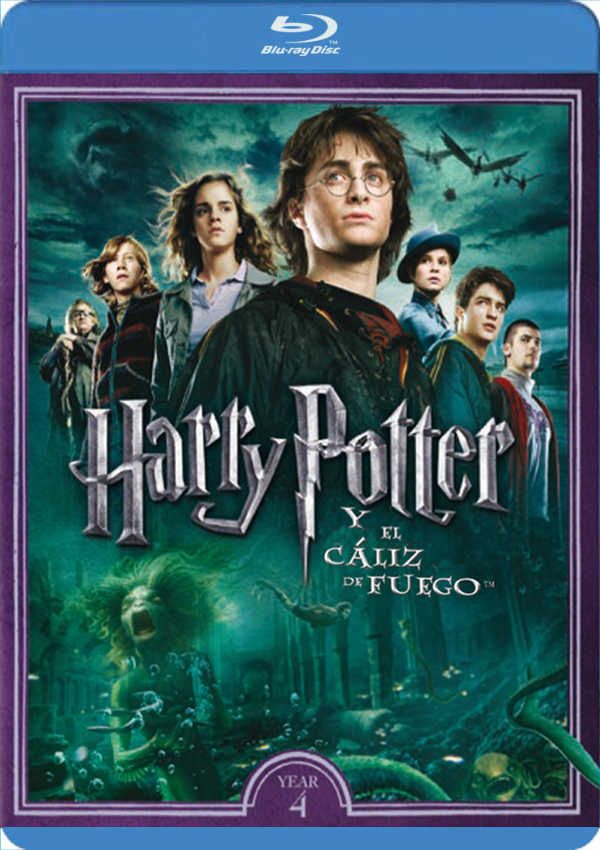 HARRY POTTER Y EL CÁLIZ DE FUEGO - BLU RAY - de - 8420266007018 ...