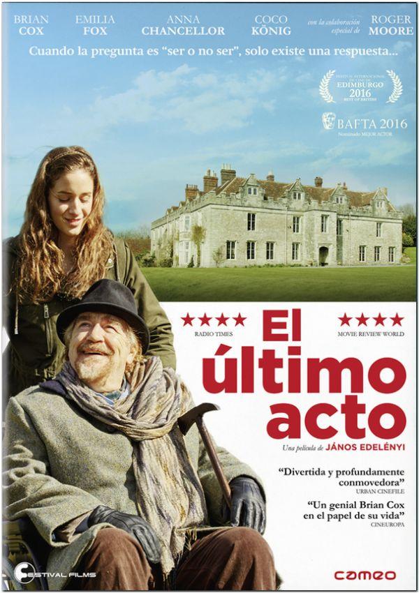 el ultimo acto - dvd --8436564162137
