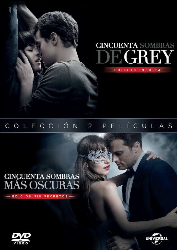 pack cincuenta sombras de grey + mas oscuras - dvd --8414533106122