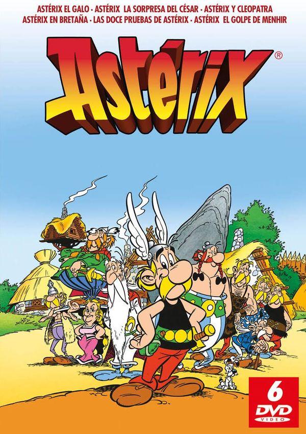 Pack Asterix Castellano Remasterizado - Dvd