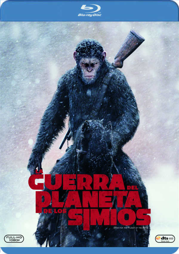 la guerra del planeta de los simios - blu ray --8420266010674