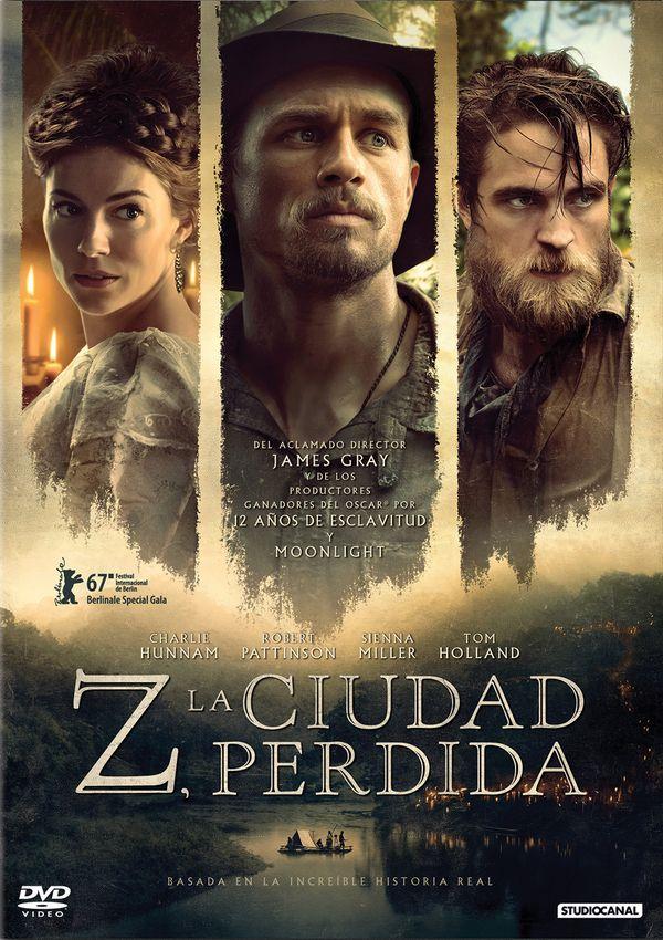 z, la ciudad perdida - dvd --8435175972692