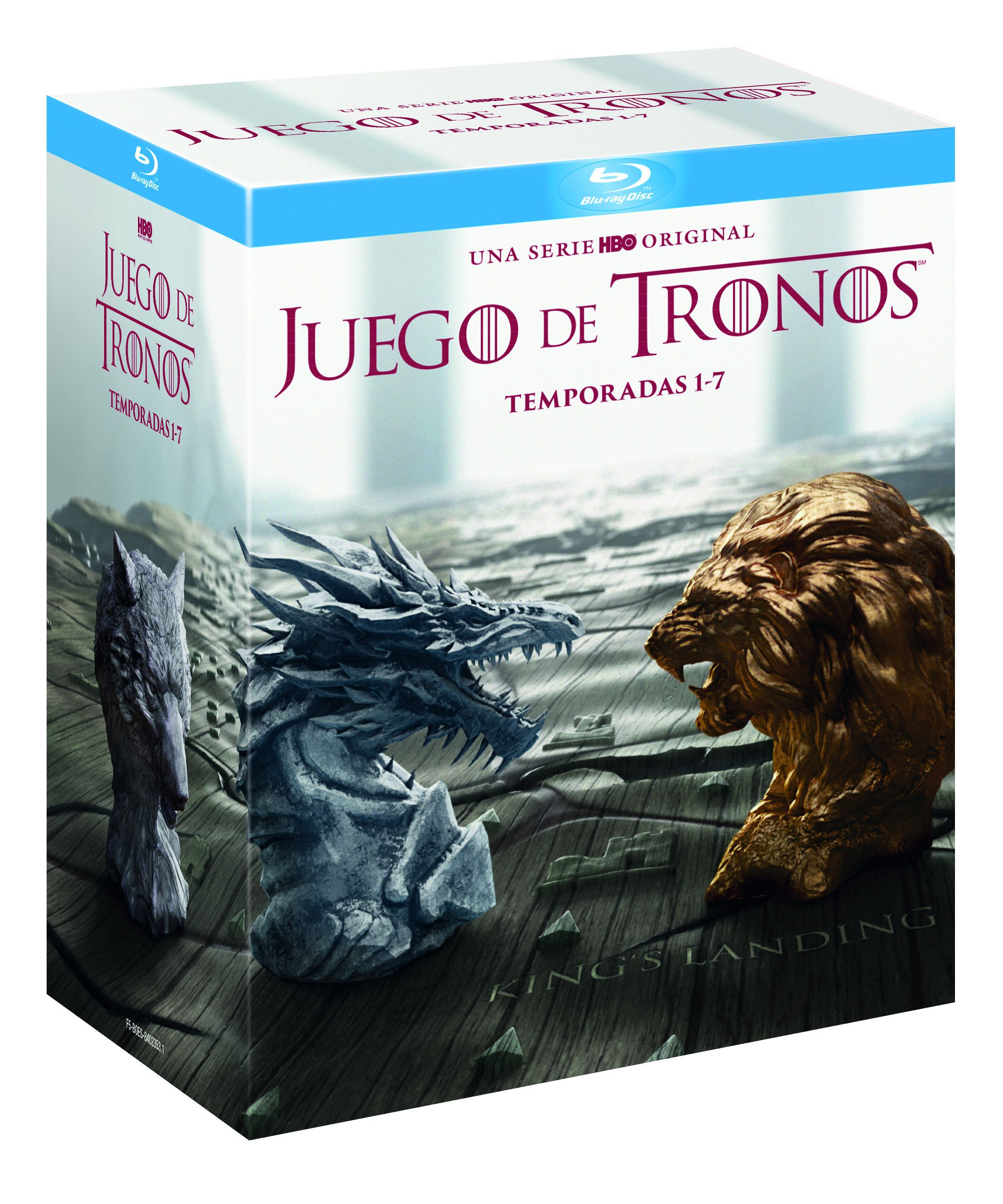 juego de tronos - blu ray - temporada 1-7-8420266010810