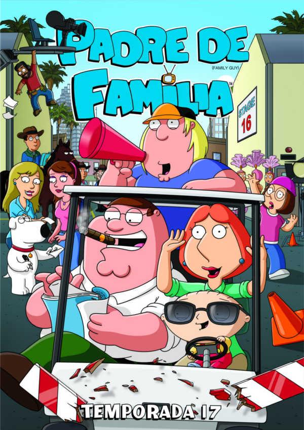 padre de familia - dvd - temporada 17-8420266012098