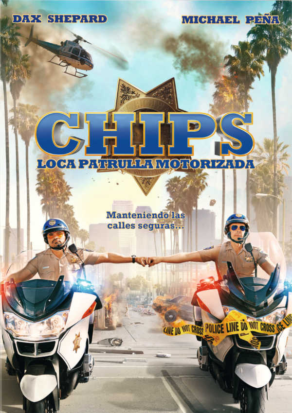 poster pelicula chips