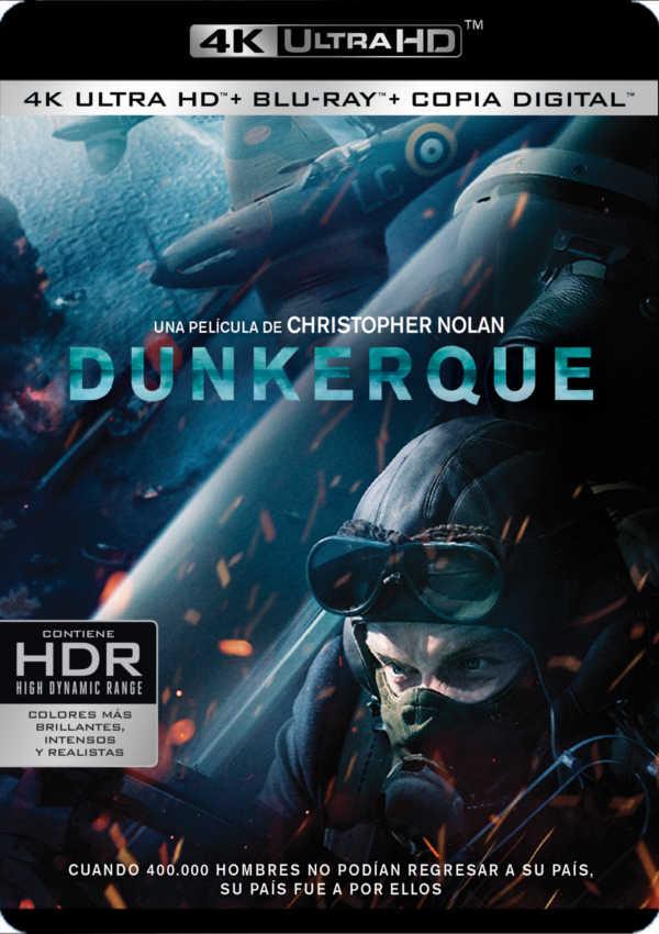 dunkerque - 4k uhd + blu ray --8420266012548