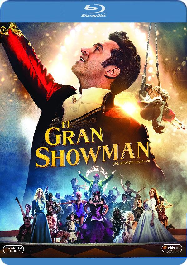 el gran showman - blu ray --8420266014627