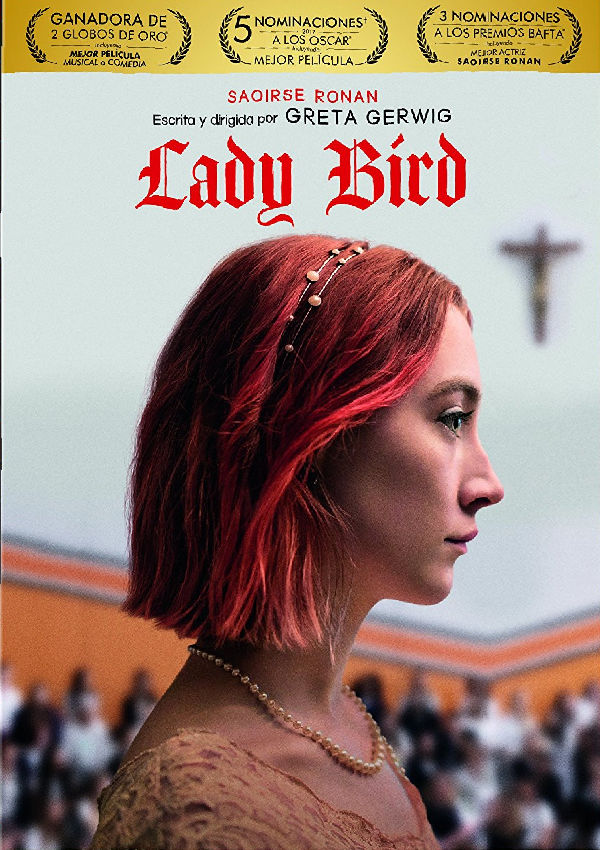 lady bird - dvd --8414533113908