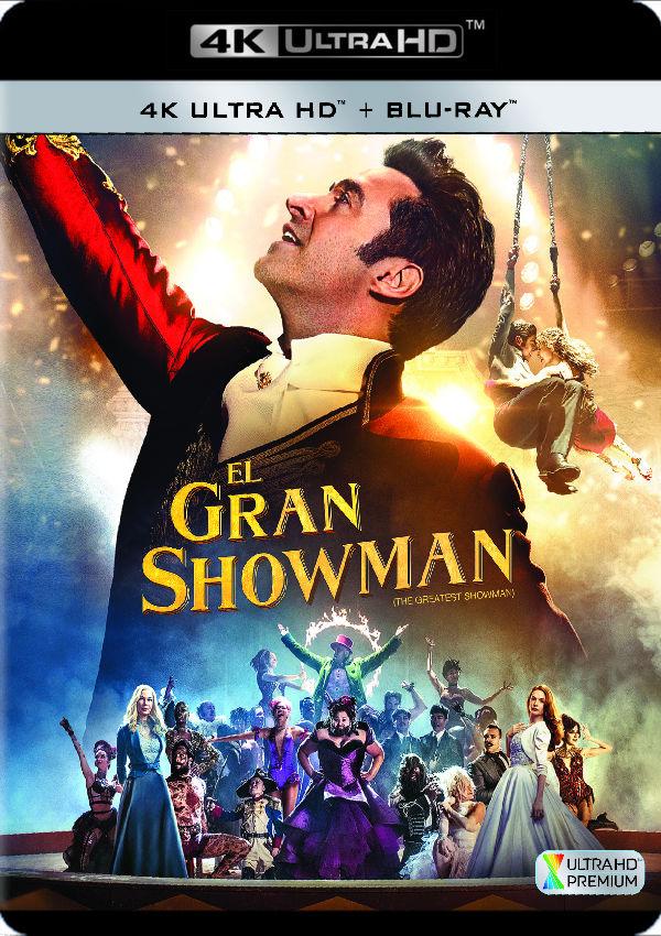 el gran showman - 4k uhd + blu ray --8420266014634
