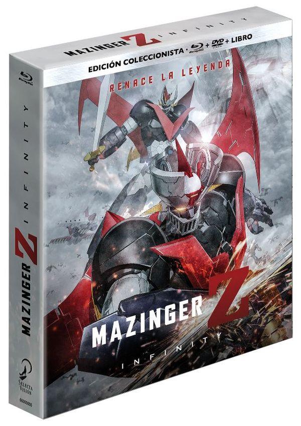 mazinger z infinity - blu ray - ed.coleccionistas-8420266015181