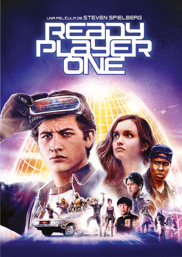 ready player one - dvd --8420266016379