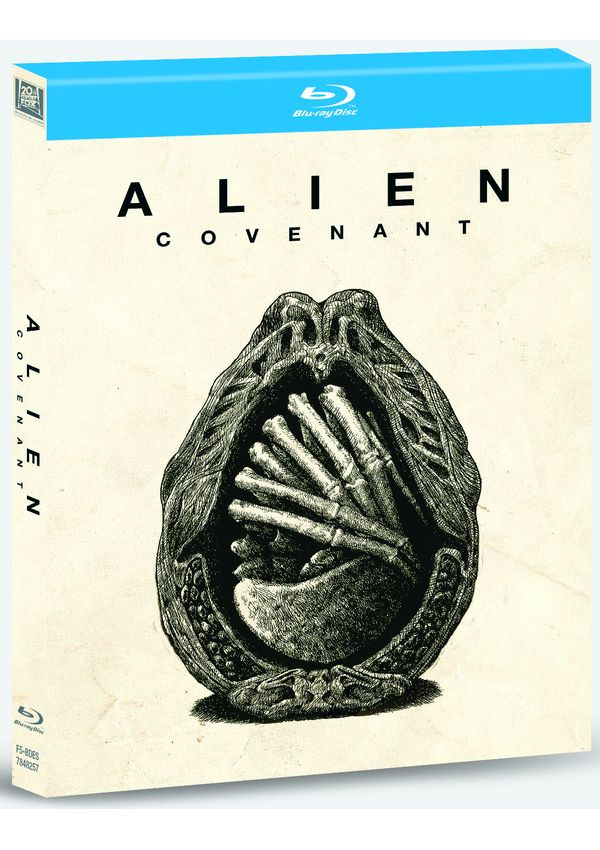 alien covenant digibook - blu ray --8420266016362