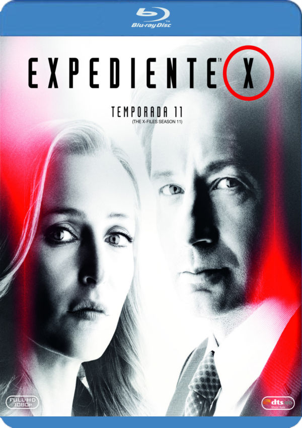 expediente x - blu ray - temporada 11-8420266017109