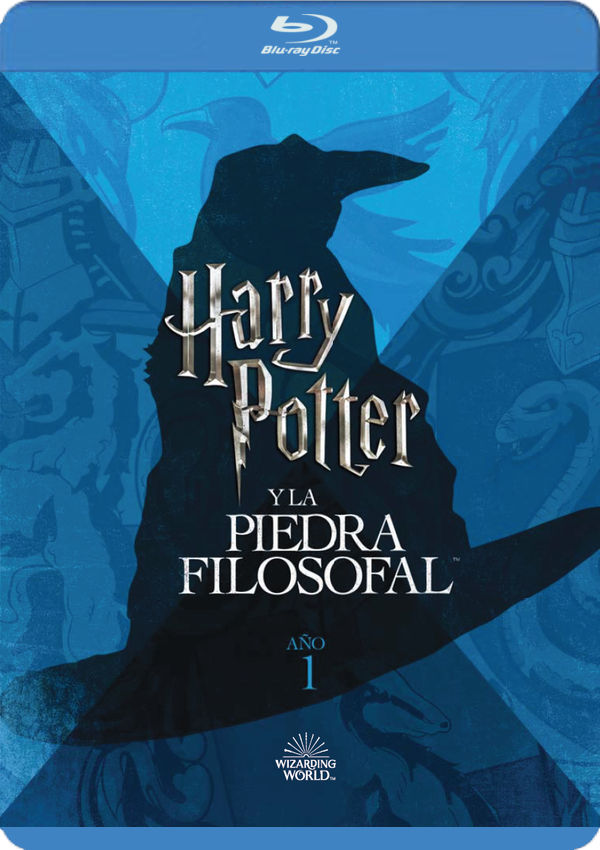 harry potter y la piedra filosofal. ed. 2018 - blu ray --8420266018977