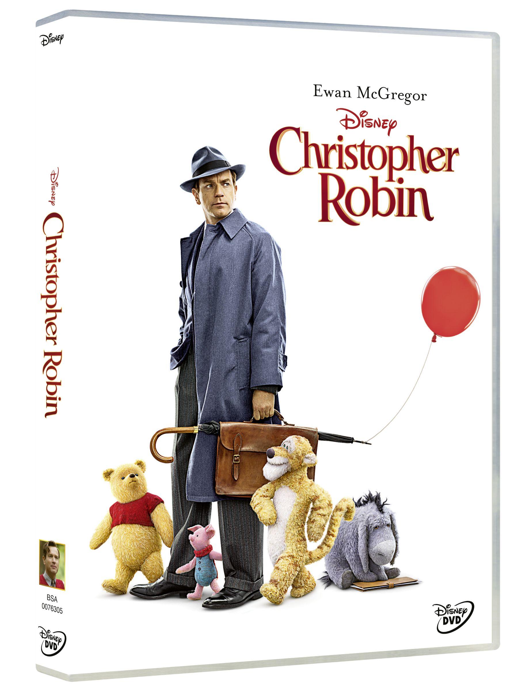 christopher robin - dvd --8717418530389