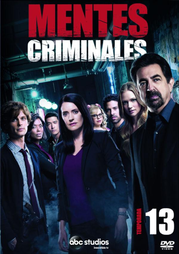 mentes criminales - dvd - la decimotercera temporada completa-8717418530402