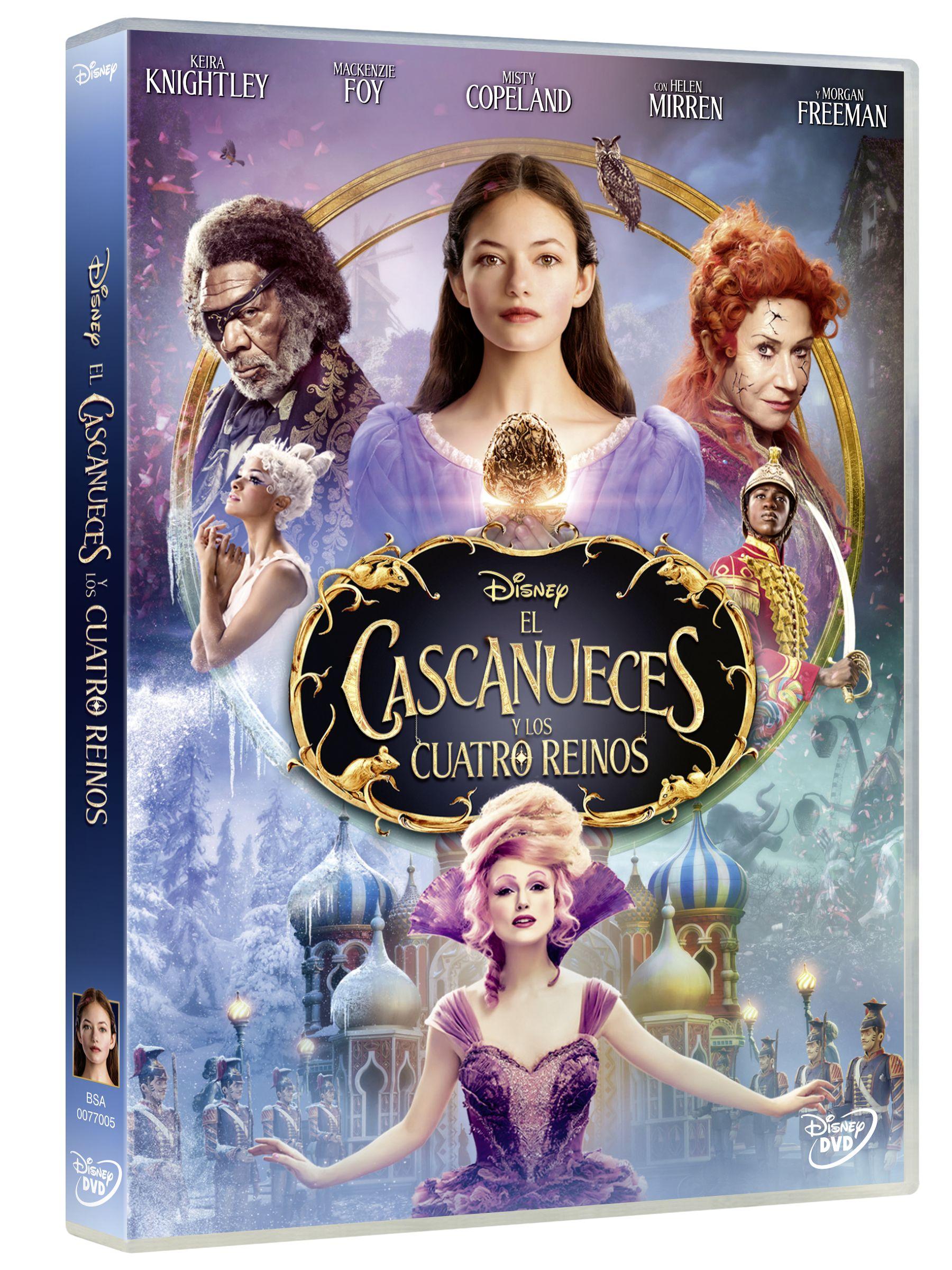 el cascanueces y los cuatro reinos - dvd --8717418541521