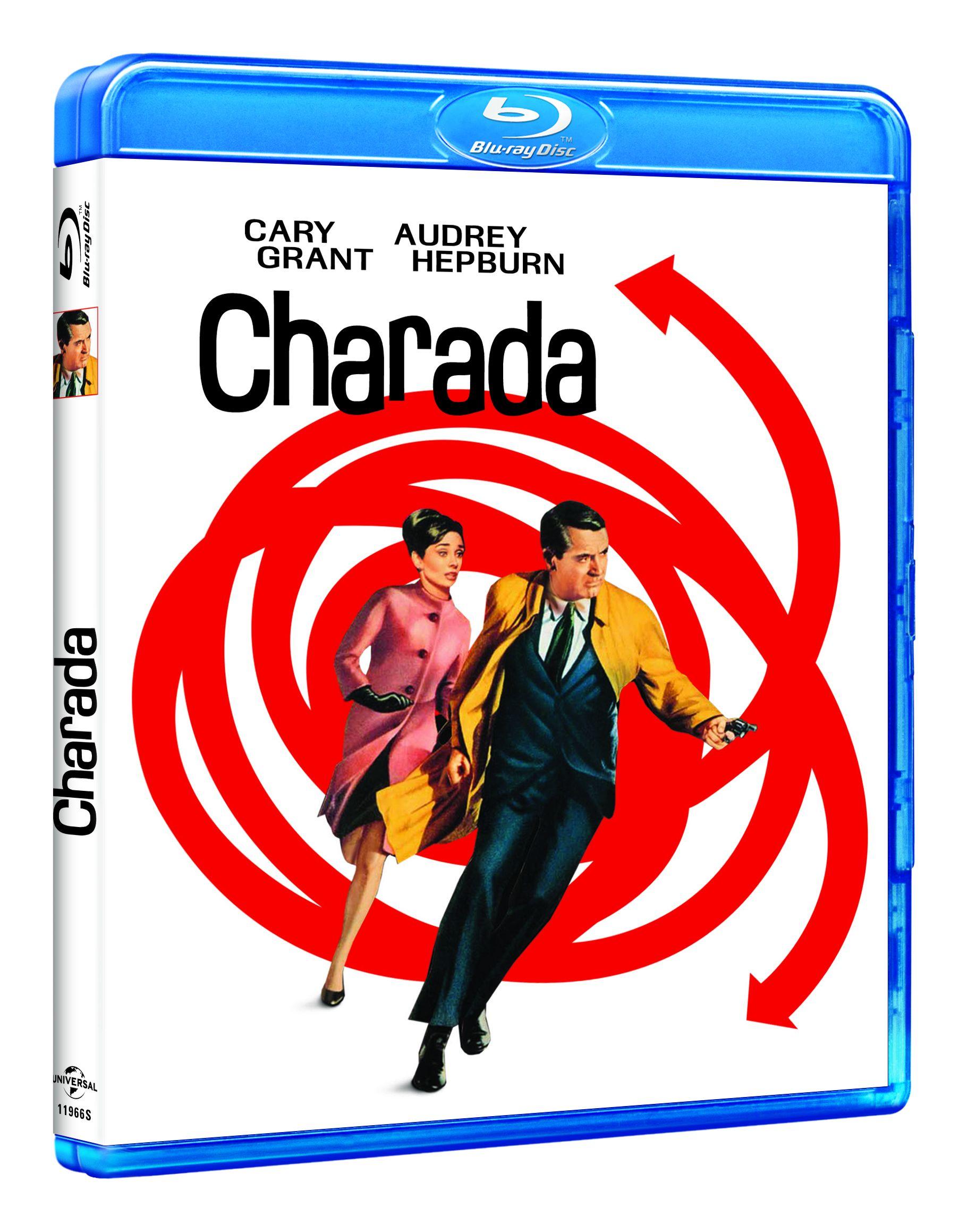 charada - blu ray --8414533119665