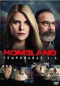 homeland: temporada 1-4 (dvd)-8420266975003