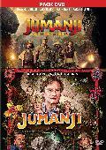 PACK JUMANJI (1995) + JUMANJI: BIENVENIDOS A LA JUNGLA - DVD -