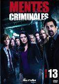 MENTES CRIMINALES - DVD - LA DECIMOTERCERA TEMPORADA COMPLETA